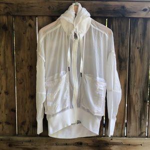STELLA McCartney white small windbreaker jacket